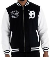 New Era Detroit Tigers Post Grados Paquete College Chaqueta Tipo Universitario