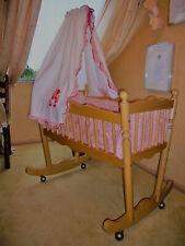 Baby Bettchen (Wiege) Holz ( Buche)