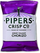 Pipers Crisps Kirkby Malham Chorizo (Pack of 24)