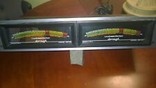 Dorrough Loudness Monitor Model 40-A2 - Meters, Pair, rack mount, work perfectly