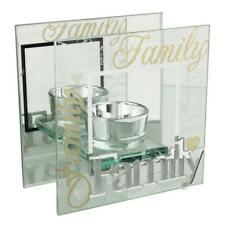 Family Verse Sentimental Tea Light Holder Gift 61114