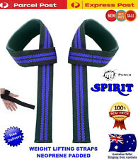 Spirit Wrist Wraps Weight Lifting Straps Bodybuilding Gym Strength Training bar