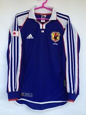 JAPAN 2001 RARE ADIDAS HOME AUTHENTIC PLAYER ISSUE FOOTBALL SOCCER JERSEY SHIRT