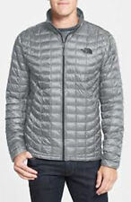 NEW The North Face MENS THERMOBALL Full Zip Grey XL $199