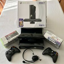 XBOX 360 Kinect - Special Edition 250GB w/ 10 games