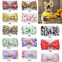 Baby Large Bow Girls Headband Big Bowknot Headwrap Kids Bow for Hair Girl Turban