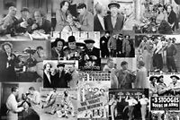 """Three Stooges: Movie Collage Art Print Poster By Anonymous, 36 """" x 24 """""""