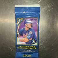 2020 TOPPS GALLERY BASEBALL GUARANTEED TWO WOOD PARALLELS - VALUE PACK 12 Cards!