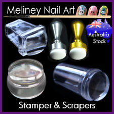 Single/Double Sided XL Stamper Scraper for Stamping Image Plate Nail Art Designs