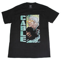 Marvel Cable Mens Graphic Tee shirt