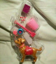 Barbie Pooping And Scooping Dog. (New)