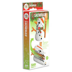 Eugy - 3D Model Craft Kit - Snowman
