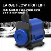SUNSUN Submersible Water Pump Aquarium Pond Fish Powerhead Fountain Hydroponic