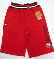GORILLA UNIT #SH6968 Boys Youth Size 6 100% Cotton Athletic Red Sweat Shorts