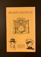 Marine Corps Graduation Booklet 1994 San Diego Recruit Depot, Vintage Original