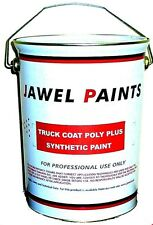 Car - Comercial Chassis Paint Synthetic Petrol Resistant BLACK Gloss 5 Litre