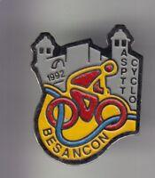 RARE PINS PIN'S .. PTT LA POSTE FRANCE TELECOM  VELO CYCLISME  BESANCON 25 ~CZ