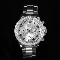 Fashion Geneva Bling Crystal Womens Girls Bracelet Band Rhinestone Wrist watch
