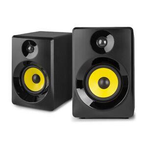 "Vonyx 30B Active Studio Monitors (Pair) 3"" Powered Desktop Speakers, Black"