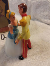 Disney Dancing Cinderella and Prince in working condition with complete box.