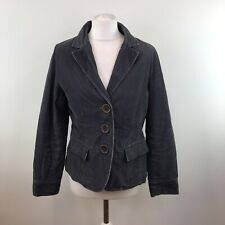 Womens Boden Cord Blazer / Riding Jacket Cotton Size 12 UK