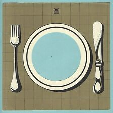 A&M (knife & fork) REPRODUCTION RECORD COMPANY SLEEVES - (pack of 10)