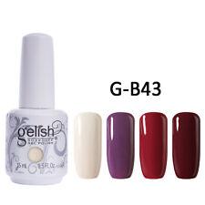 Gelish Harmony Soak Off Nail Art Esmalte En Gel Color cuatro Set 15ml
