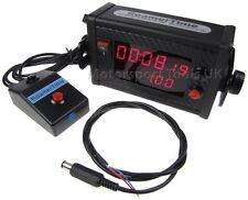 Basic Roamer RoamerTime Digital Stopwatch Clock + Remote Rally Race 12v/Battery