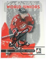 BRYAN LITTLE SIGNED 07-08 ITG O CANADA WORLD JUNIORS CARD AUTOGRAPH AUTO!!