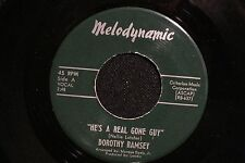 northern soul DOROTHY RAMSEY He's a Real Gone Guy MELODYNAMIC M- hear soundclip!