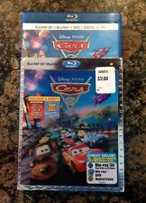 Disney Cars 2 3D Blu-ray / (Blu-ray / DVD &5 Disc Set)Authentic US Release