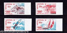 France (Wallis & Futuna) - 1988 Olympics - U/M - SG 535-8 IMPERF