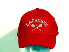 Youth Lacrosse Embroidered Youth adjustable hat (new)