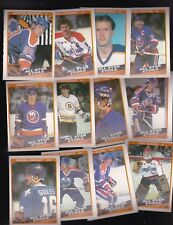 1984 OPC Team LOT of 12 NHL ALL STARS NM/MT o-pee-chee GRETZKY BOSSY BOURQUE