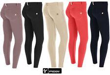 Freddy WR.UP®  7/8 Länge Regular Waist Super Skinny Damen Hose Stretch Baumwolle