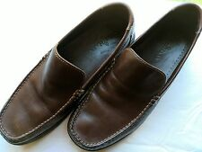 Mens Cole Haan 8M Loafer Brown Leather Slip On Shoes Keating Venetian C11404