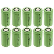 10x Exell 1.2V 4200mAh NiMh SubC Size Rechargeable Flat Top Batteries Usa Ship