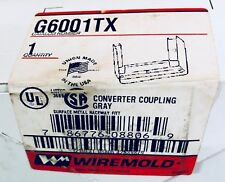 G6001Tx Wiremold Converter Coupling - Gray (New)