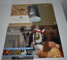 LONDON SOUVENIR BOOKS England Buckingham Palace British Museum Royal Mews Guide