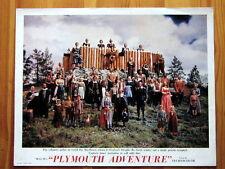 PLYMOUTH ADVENTURE Movie Film Lobby Card GENE TIERNEY VAN JOHNSTON SPENCER TRACY