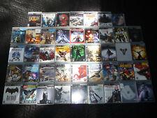 Playstation 3 LOT OF 40 + GAMES. Star Wars LOTR Final Fantasy GOW Batman. CLEAN!
