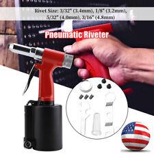 14npt Aluminum Alloy Pneumatic Air Hydraulic Rivet Gun Riveter Riveting Tool