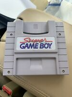 Super GameBoy - GameBoy Games (Not Included) Play in SNES Super Nintendo -Tested