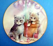 """Playful Companions""by Ruane Manning/ Kitten Cousins Collection The Danbury Mint"