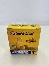 1 Box QUANTITY 12  Viceroy Reliable Seal Regular Jar Rubbers With Tab NEW IN BOX
