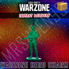 Call of Duty Black Ops Warzone Hero Toy Soldier Weapon Charm Modern Warfare