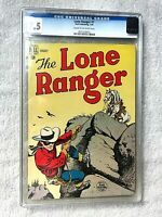 Lone Ranger #7 Dell January 1949 CGC 7.5 Cream to Off-white pages golden age