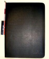 Pierre Cardin Schreibmappe mit Reißverschluss Taschenrechner inkl. Schreibblock