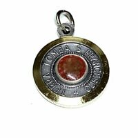 St. Francis Assisi Relic Medal Franciscan Pendant Charm Medalla Medallion