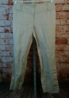 The Limited Cassidy Linen Pants Metalic Detail   Size 8